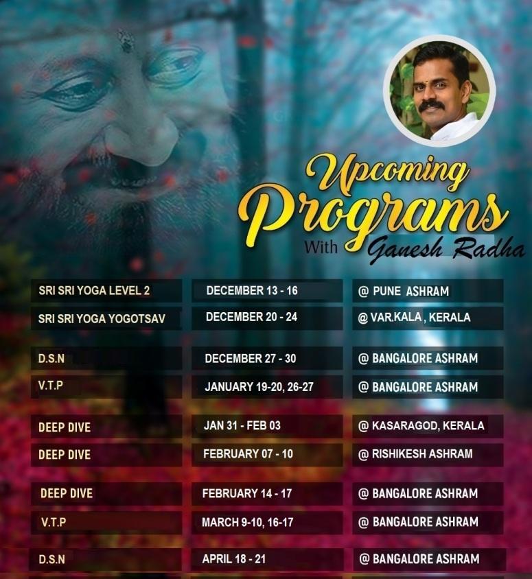 Dec-Jan-Feb Schedule